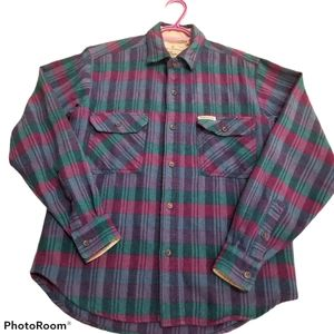 Vintage Royal Robbins Wool Button Down Shirt AS IS